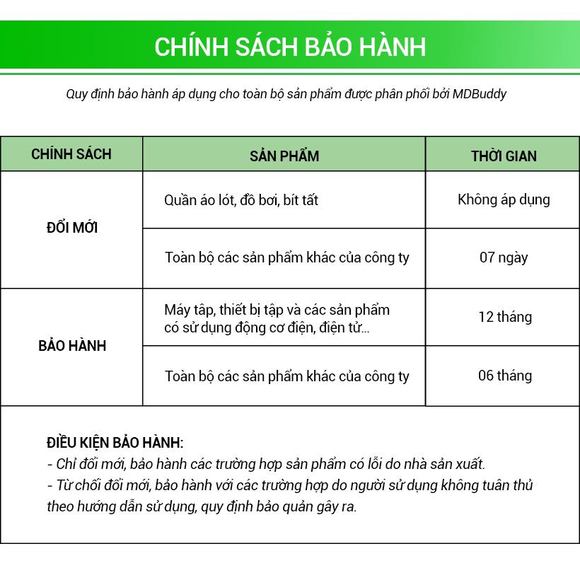 Chính sách bảo hành của MDBuddy Việt Nam