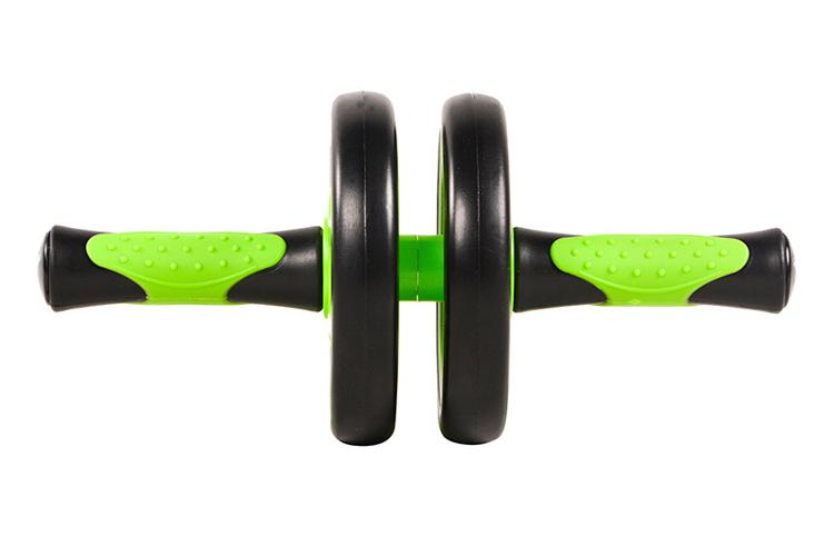 Con lăn bánh xe đôi tập luyện cơ bụng hiệu quả