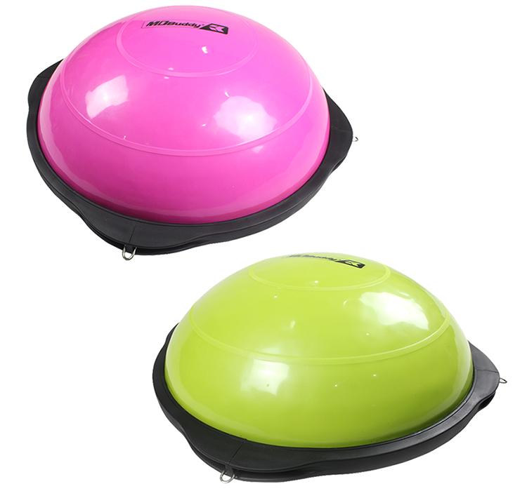 Bóng tập Yoga Bosu ball MDBuddy MD1215 có 2 màu hồng, xanh cho bạn lựa chọn