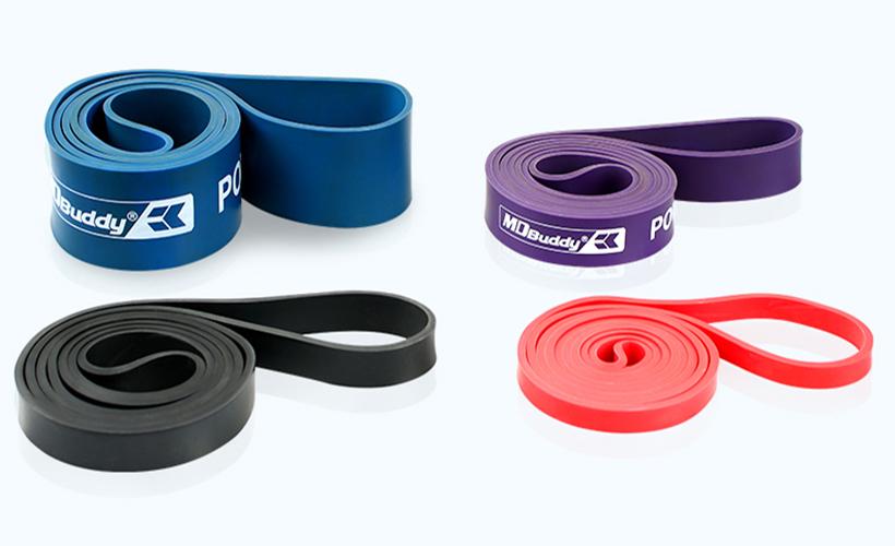Vòng đàn hồi có nhiều size khác nhau với các mức độ từ dễ đến khó: Size 13mm, 21mm, 32mm, 44mm