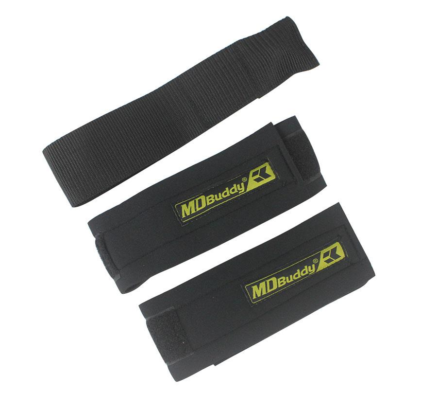 2 đai cuốn chân hỗ trợ các bài tập kéo cơ chân, đùi, hông