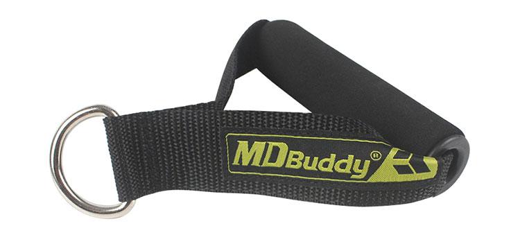 Dây thể dục đàn hồi MDBuddy có tay cầm bọc mút êm ái