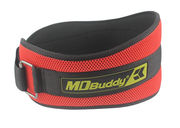 Đai lưng MDBuddy màu đỏ