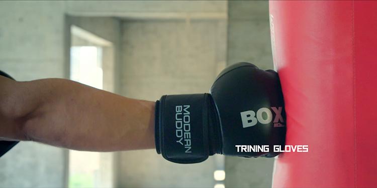 Găng tay boxing giúp việc tập luyện trở nên dễ dàng hơn