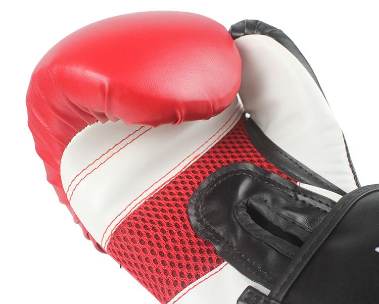 Găng tay màu đỏ dùng cho Boxing chuyên nghiệp