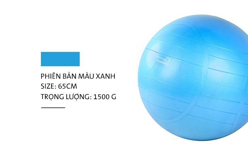 Bóng tập YOGA MDBuddy MD1281 màu xanh