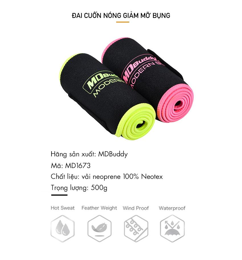 Sản phẩm được nhập khẩu chính hãng bởi MDBuddy Việt Nam
