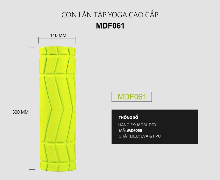 Con lăn tập Yoga mini MDBuddy MDF061