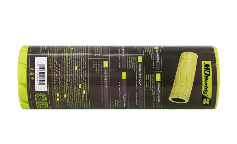 Bao bì chính hãng của sản phẩm con lăn Foam Roller MDBuddy MDF061