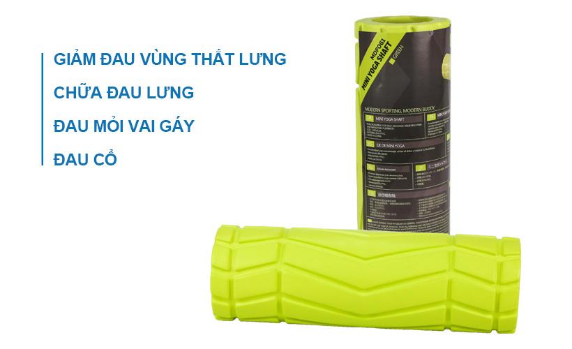 Công dụng của con lăn tập Yoga mini
