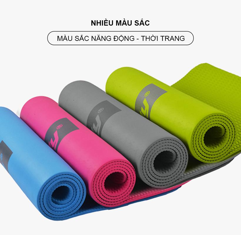 Thảm tập Yoga có đa dạng màu sắc cho bạn lựa chọn