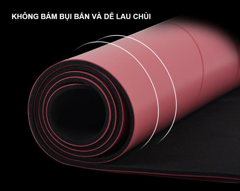Bề mặt mềm mịn của thảm tập yoga chính hãng MDBuddy MD9040