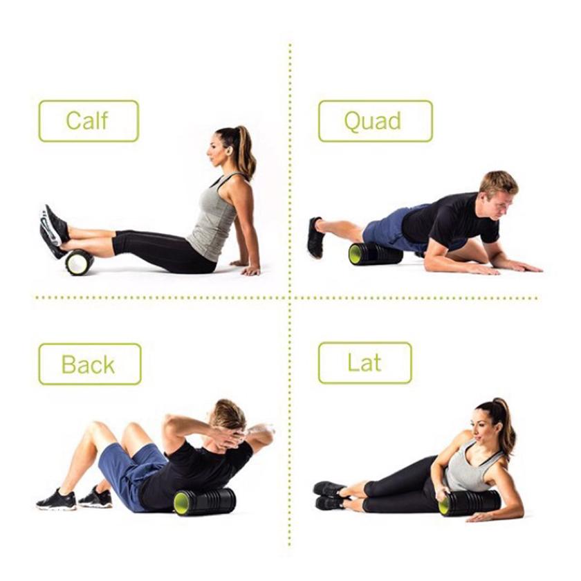 Con lăn giãn cơ giúp giảm căng thẳng cho các vùng cơ bị đau nhức