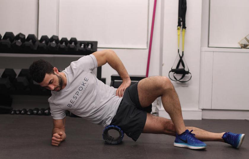Con lăn giãn cơ khá phổ biến trong tập gym, yoga