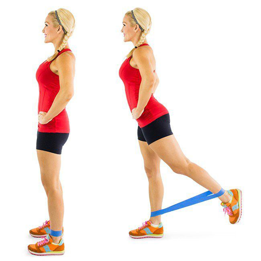 Bài tập mông với dây kháng lực