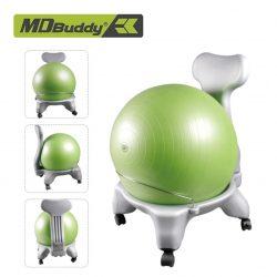 Ghế bóng cải thiện tư thế ngồi Ball Chair MDBuddy MD1222