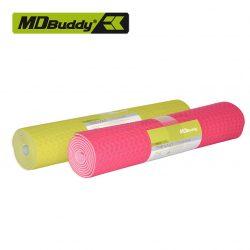 Thảm tập Yoga, Pilates TPE chống rách, dày 6mm MDBuddy MD9012