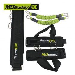 Bộ dây khá́ng lực kéo giãn căng cơ chân Jump Trainer MDBuddy MD1338