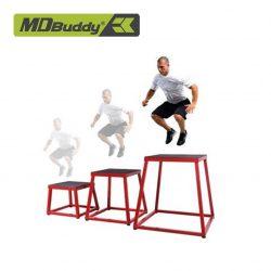 Ghế dậm nhảy bọc cao su chống trượt MDBuddy MD6501