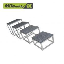 Ghế dậm nhảy bọc cao su chống trượt MDBuddy MD6502