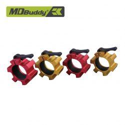 Bộ khóa tạ bằng nhôm chính hãng MDBuddy MD4046